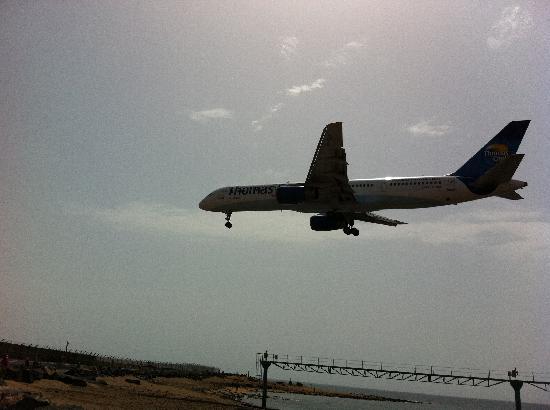 Beatriz Playa & Spa: un avion cerquita