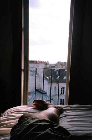 Hostellerie du Marais: The view from my room