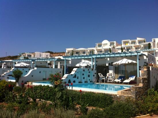 Lachania, Grèce : Престиж Бунгало со своим бассейном