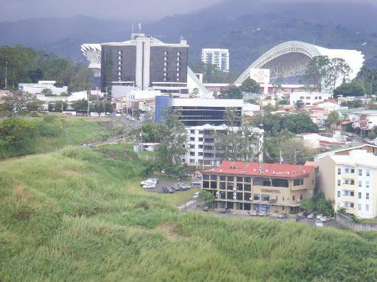 Barcelo San Jose: Vista desde la habitación