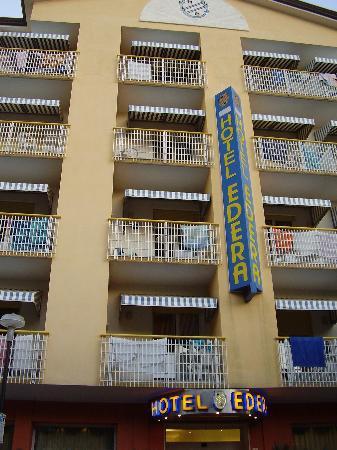Hotel Edera : la facciata