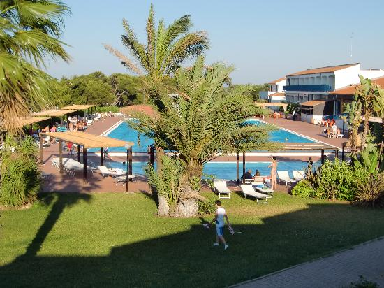 Hotel Club Santa Sabina: ...camera con vista