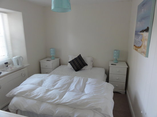 New Inn at Veryan: Room 1, small double