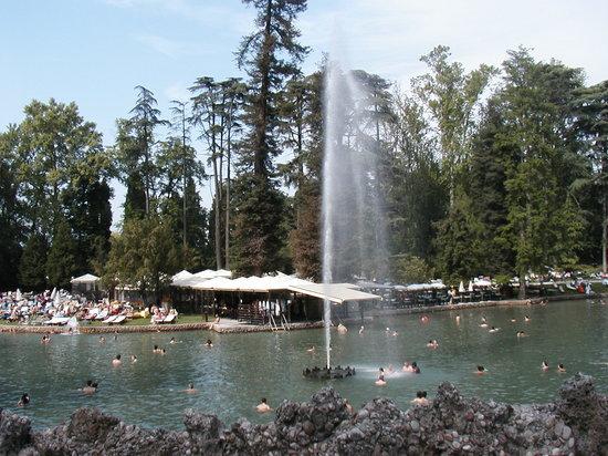 Cola, Italy: parco termale di lazise
