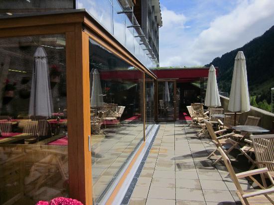 Hotel Lux Alpinae: Eingang