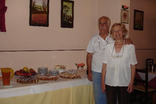 Borgovivo: petit déjeuner avec Cesar et Vanda