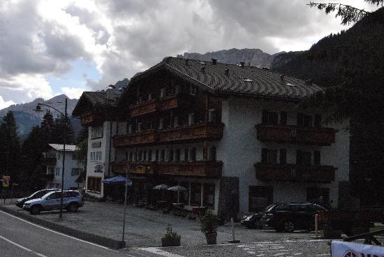 Hotel Rododendro: Esterno fronte strada
