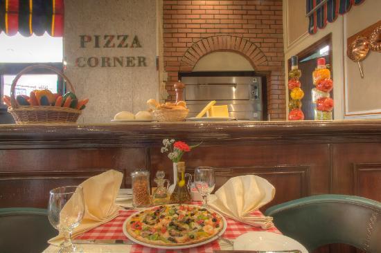Al Diar Dana Hotel: Pizza Corner