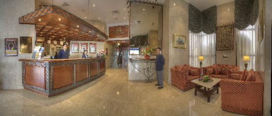 Al Diar Dana Hotel: Lobby
