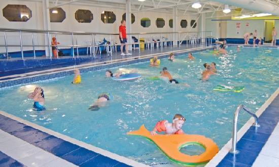 Ashington, UK: Sandy Bay's heated indoor swimming pool