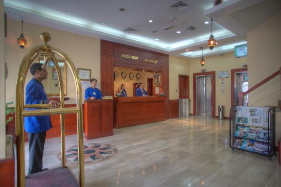 Al Diar Mina Hotel: Reception
