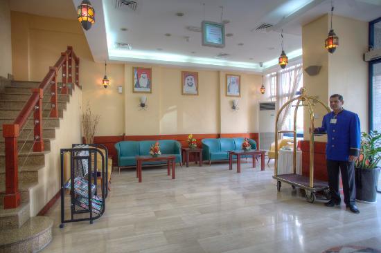 Al Diar Mina Hotel : Lobby Corner