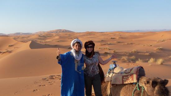 Ligne d'Aventure - Day Tours: Camel treak in Merzouga dunes