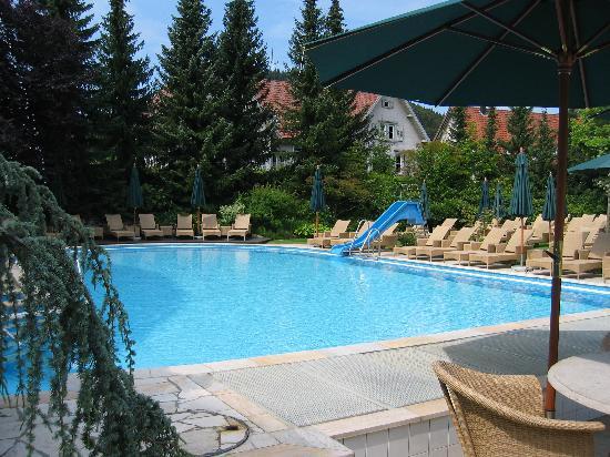 Hotel Bareiss : L'autre piscine extérieure