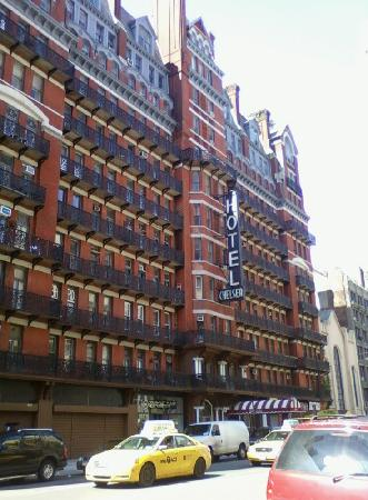 Chelsea Hotel: Outside the Chelsea.