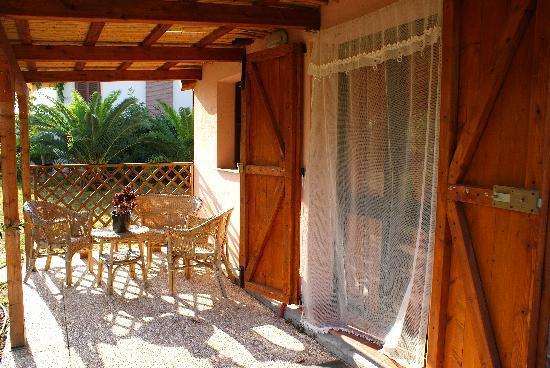 Le Casette: veranda house 4