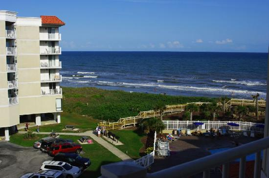 Surf City, NC: view of ocean from our condo