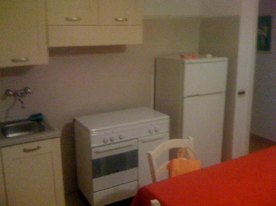 Agriturismo Capani: soggiorno/cucina 2