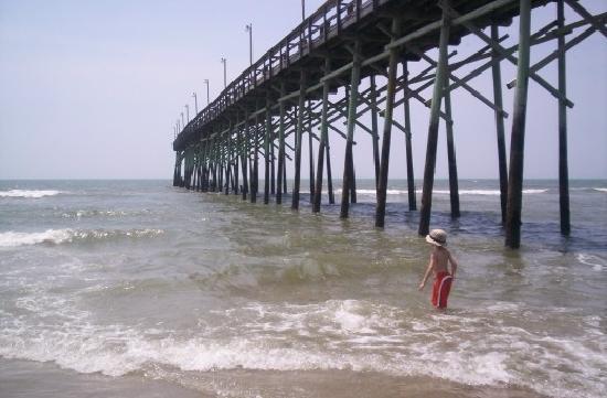 Ocean Isle Inn Beach Pier