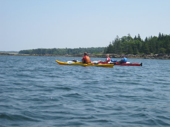 Maine State Sea Kayak: lovely day