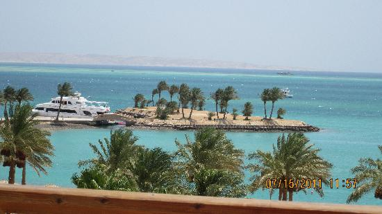 Continental Hotel Hurghada : What a view to wake up to!!