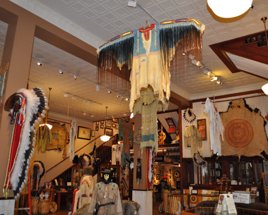 Rapid City, Dakota du Sud : inside the Native Gallery (1)