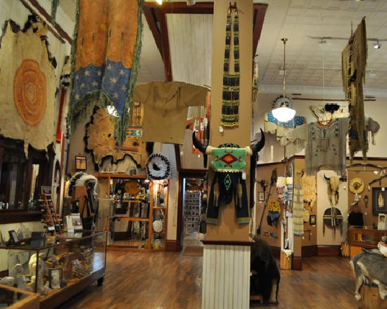 Rapid City, Dakota du Sud : inside the Native Gallery (2)