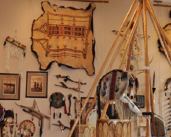 Prairie Edge Trading Co. & Galleries: inside the Native Gallery (3)