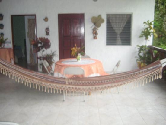 Hostal Cariguana: hamacas listas para una buena siesta