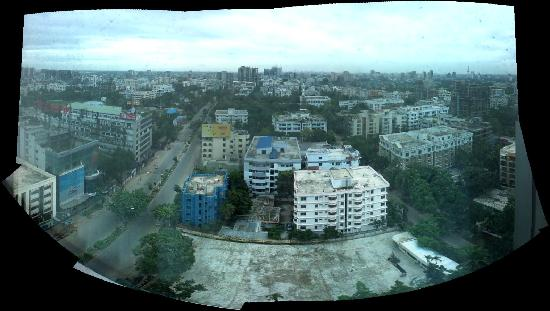 The Westin Dhaka : An attempt at a cityview :)