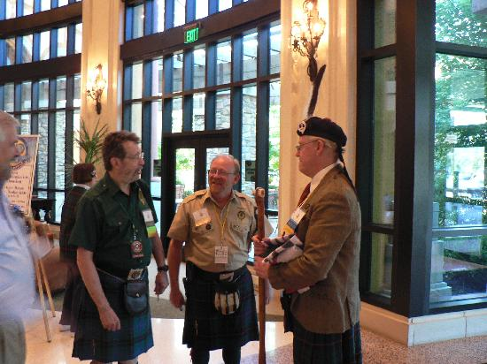 Argosy Casino Hotel & Spa: Davidson Clansmen Gather From GA, ME and AUS
