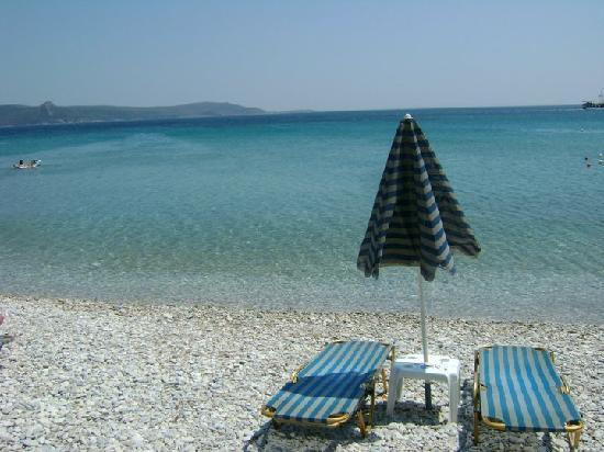 Zefiros Beach Hotel: spiaggia