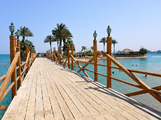 Hurghada Marriott Beach Resort: The island