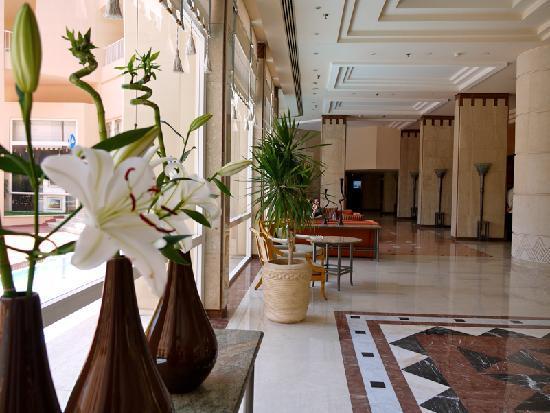 Hurghada Marriott Beach Resort : The main lobby