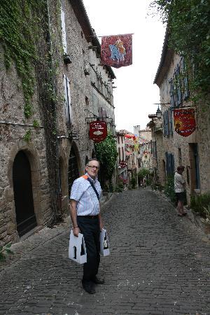 Rocamadour, Frankrig: CORDES SUR CIEL