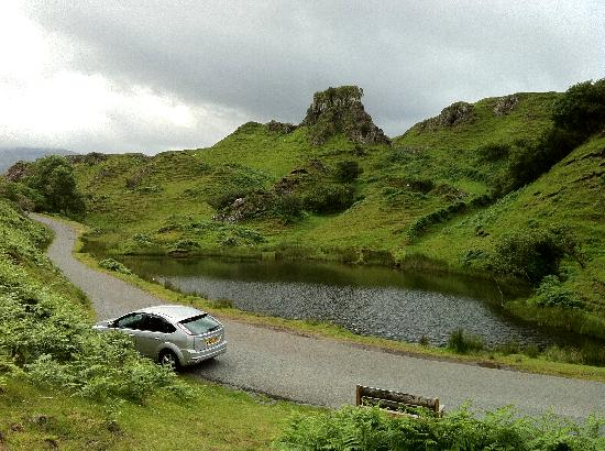 Harris Cottage Bed and Breakfast: Don't miss the nearby Fairy Glen