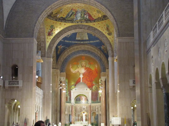 Basilica of the National Shrine of the Immaculate Conception: interior
