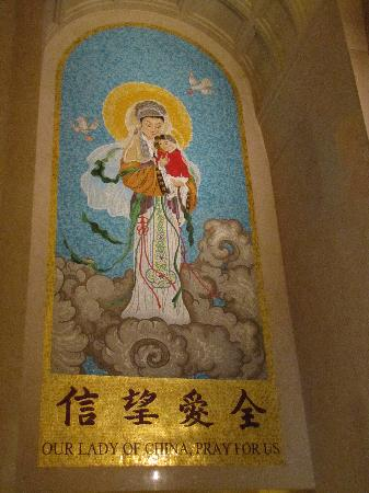 Basilica of the National Shrine of the Immaculate Conception: our lady