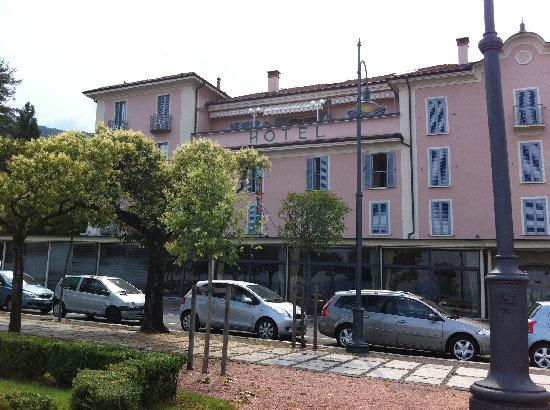 Hotel Beau Rivage, Lake Maggiore, Our room above the OT