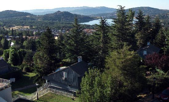 Hotel Arcipreste de Hita: View from balcony