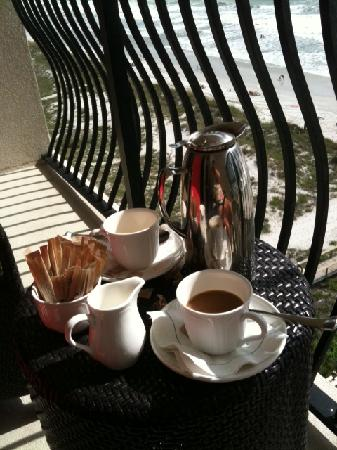 One Ocean Resort & Spa: AM Coffee on Balcony