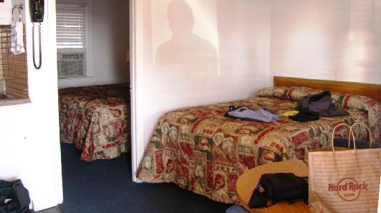 Gulf View Motel: 2 Schlafzimmer eins mit Küche