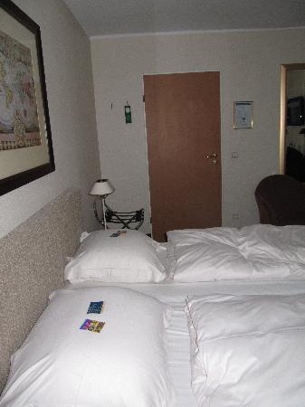 Hotel Stella Maris: Hotelbett