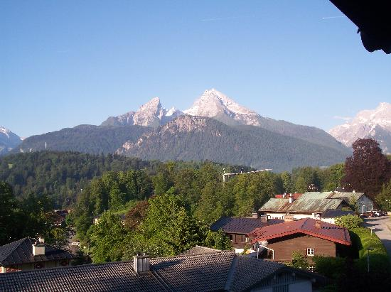 Pension Haus am Berg: View from the balcony of Room 4