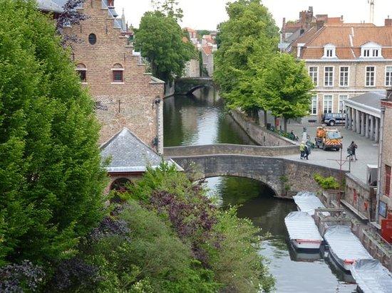 Marksman Tours : View from the Hotel Bourgoensche hof