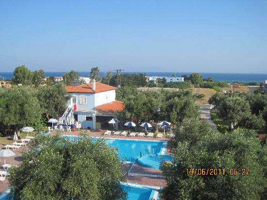 Filoxenia Hotel Apartments: View from balcony