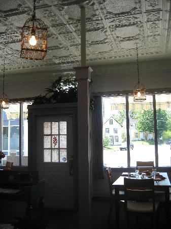 Mahone Bay, Canadá: Interior - main dining area