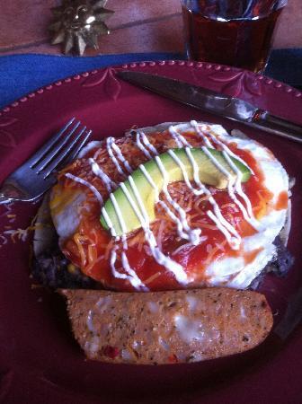 Adobe Village Inn: breakfast!
