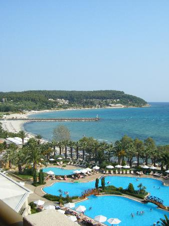 Sani Beach: Sea view suite 3rd floor.