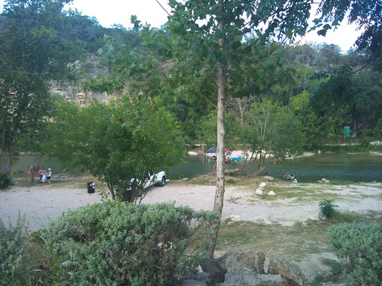 New Braunfels Camping >> View From Rv Sites Picture Of Camp Huaco Springs New Braunfels